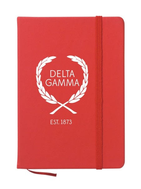 Delta Gamma Laurel Notebook