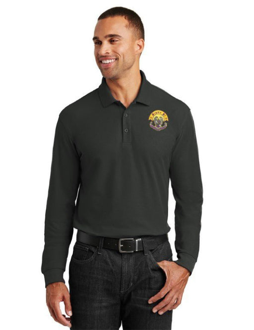 Sigma Pi Long Sleeve Polo