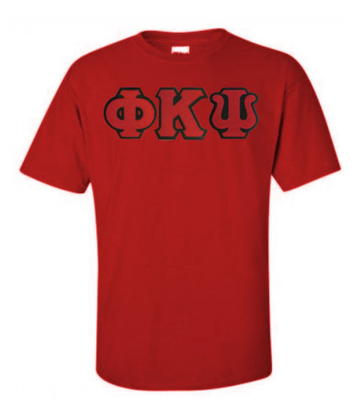 Phi Kappa Psi Lettered T Shirt