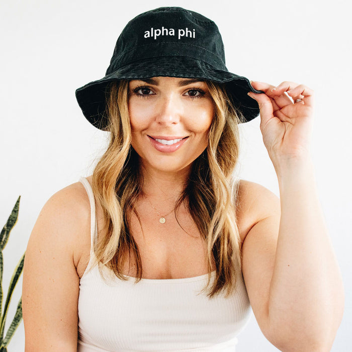 Alpha Phi Best Selling Bucket Hat