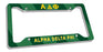 Alpha Delta Phi New License Plate Frame