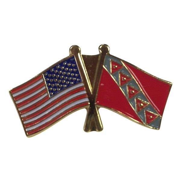 Tau Kappa Epsilon USA / Fraternity Flag Pin