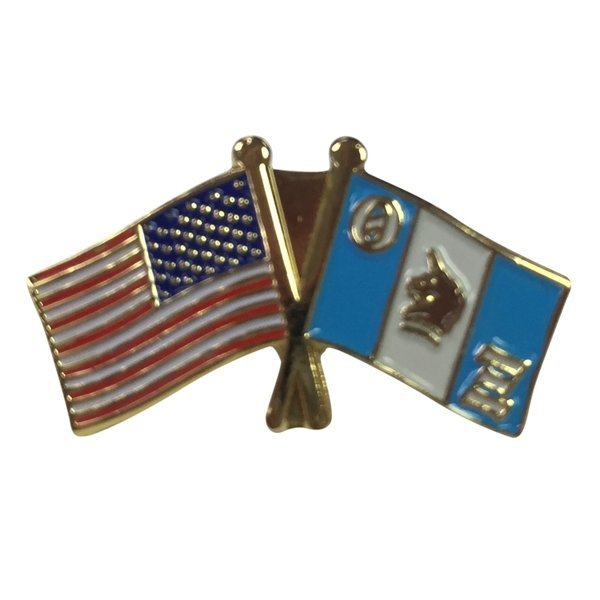 Theta Xi USA / Fraternity Flag Pin