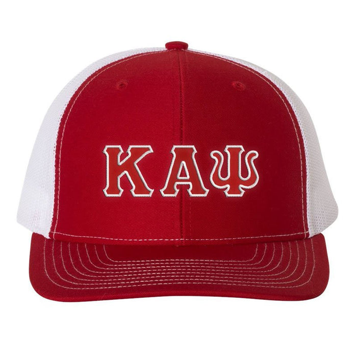 Kappa Alpha Psi Greek Trucker Cap