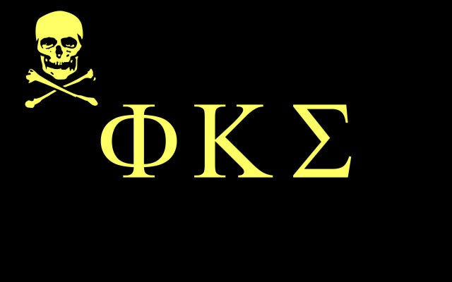 Phi Kappa Sigma Fraternity Flag Sticker