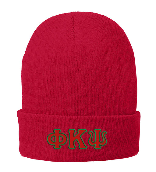 Phi Kappa Psi Lettered Knit Cap