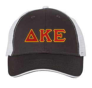 Delta Kappa Epsilon Greek Trucker Cap