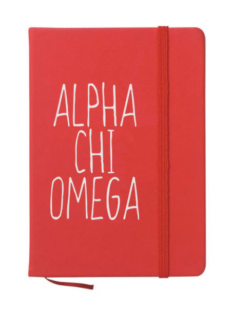 Alpha Chi Omega Mountain Notebook