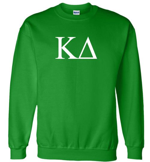 Kappa Delta World Famous Lettered Crewneck Sweatshirt
