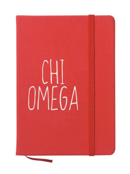 Chi Omega Mountain Notebook
