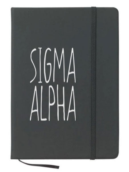 Sigma Alpha Mountain Notebook