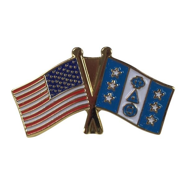 Phi Delta Theta USA / Fraternity Flag Pin