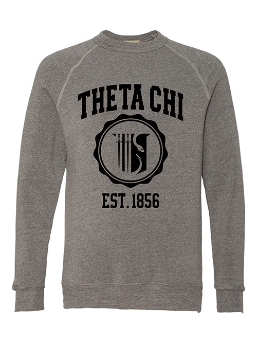 Theta Chi Alternative Eco Fleece Champ Crewneck Sweatshirt