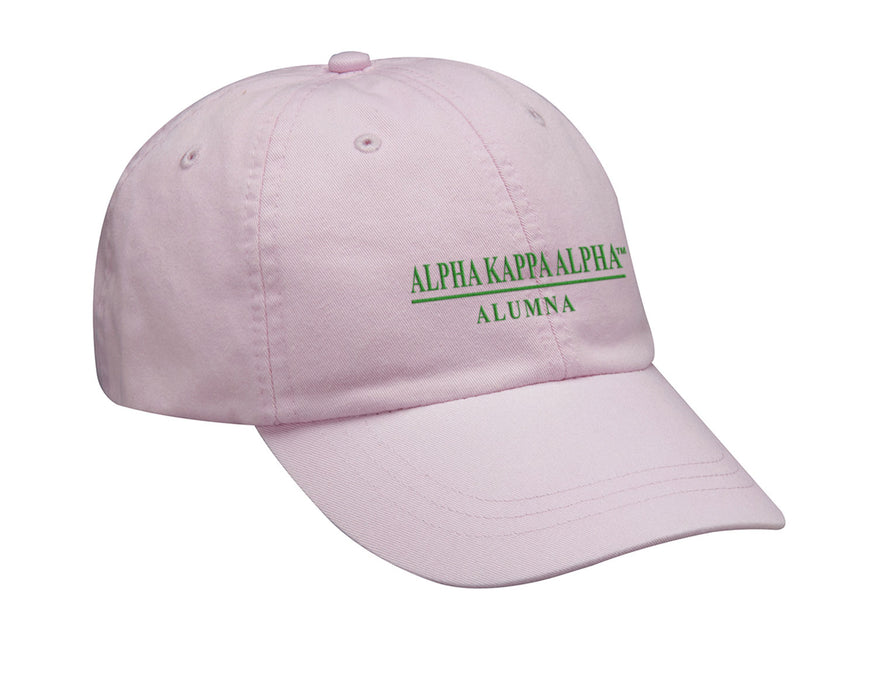 Alpha Kappa Alpha Custom Embroidered Hat