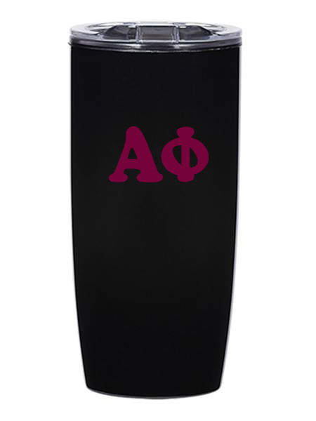Alpha Phi Cooper Letters 19 oz Everest Tumbler