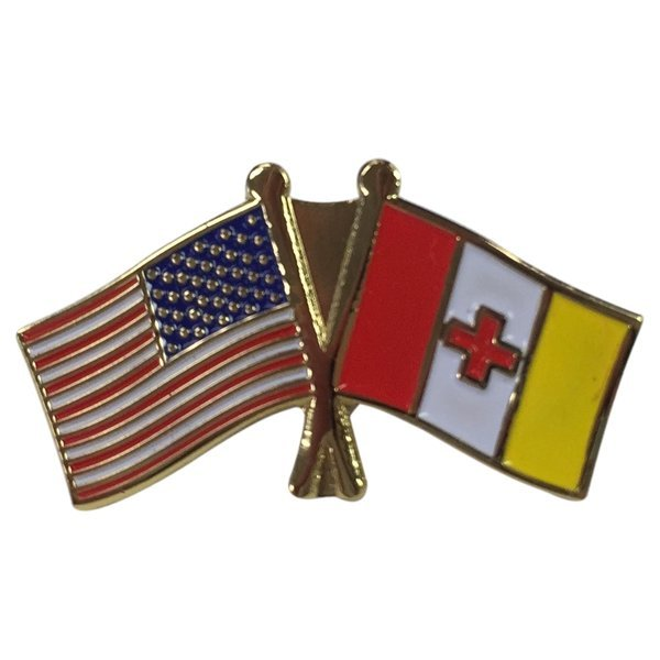 Kappa Alpha USA / Fraternity Flag Pin