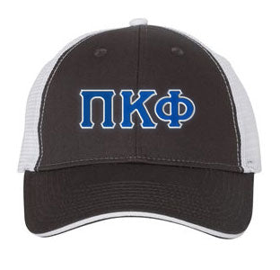 Pi Kappa Phi Greek Trucker Cap