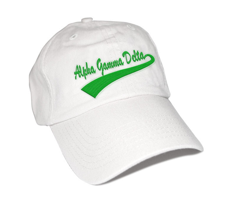 Alpha Gamma Delta New Tail Baseball Hat