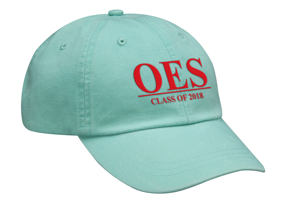 Order Of The Eastern Star Embroidered Hat with Custom Text