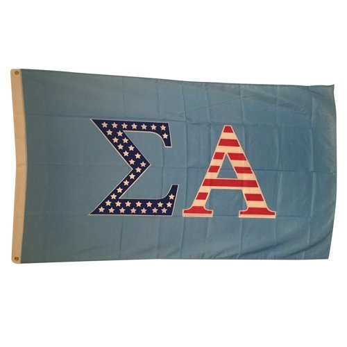 Sigma Alpha Patriotic Flag