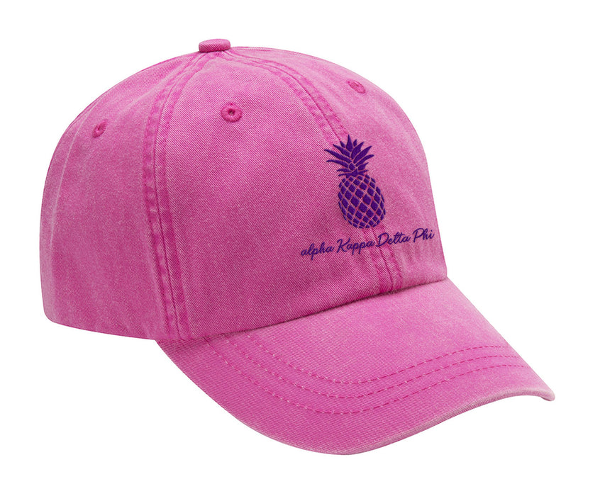 Alpha Kappa Delta Pi Pineapple Embroidered Hat