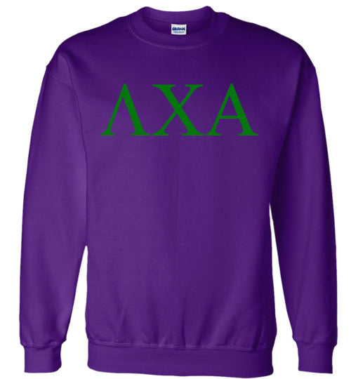 Lambda Chi Alpha World Famous Lettered Crewneck Sweatshirt