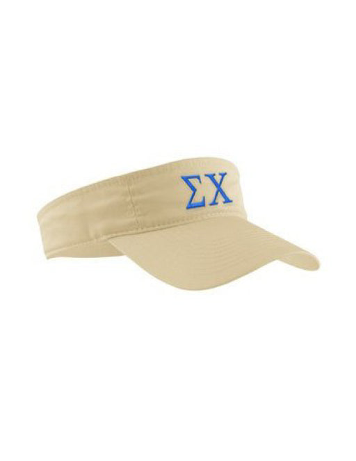 Sorority Letter Visor