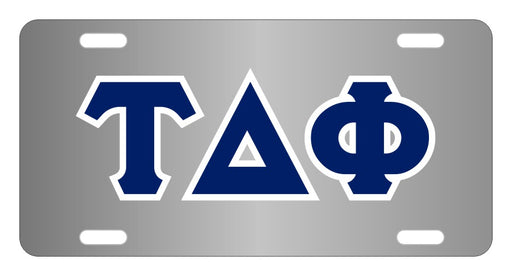 Tau Delta Phi Fraternity License Plate Cover