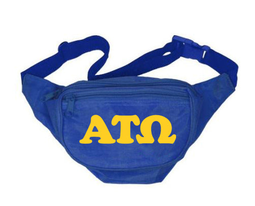 Alpha Tau Omega Fanny Pack Letters Layered Fanny Pack
