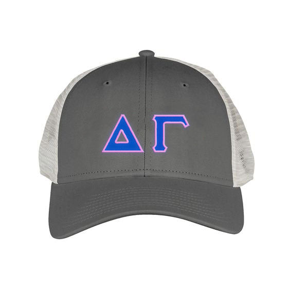 Delta Gamma Greek Trucker Cap