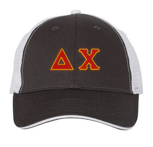 Delta Chi Greek Trucker Cap