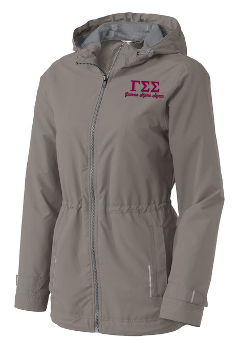 Gamma Sigma Sigma Embroidered Ladies Northwest Slicker