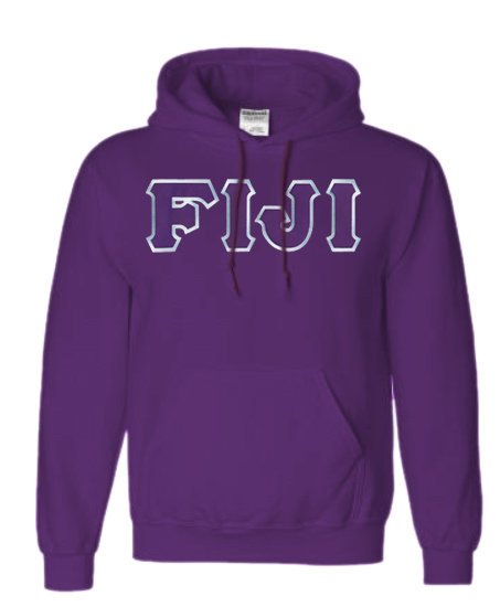 Phi Gamma Delta Lettered Hoodie