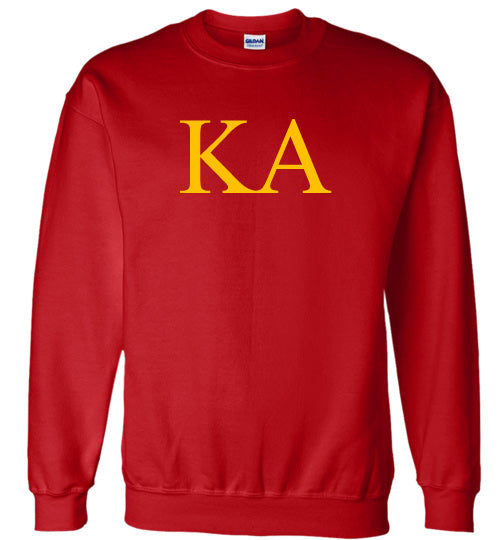 Kappa Alpha World Famous Lettered Crewneck Sweatshirt