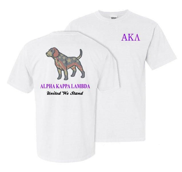 Alpha Kappa Lambda Stand Tall Comfort Colors Heavy Tee