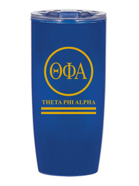 Theta Phi Alpha Circle Stripes 19 oz Everest Tumbler