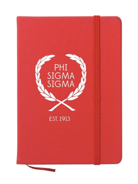 Phi Sigma Sigma Laurel Notebook