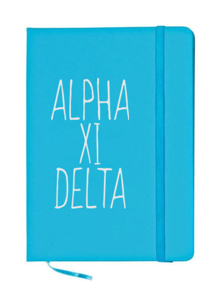 Alpha Xi Delta Mountain Notebook