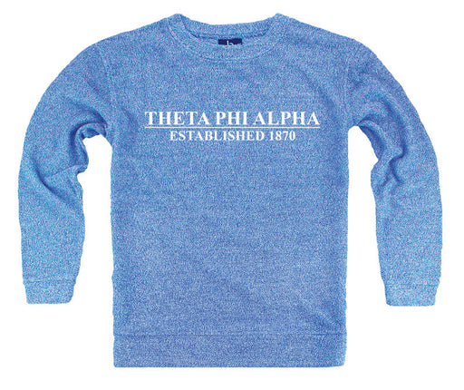 Theta Phi Alpha Year Established Cozy Sweater