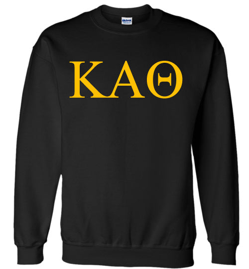 Kappa Alpha Theta World Famous Lettered Crewneck Sweatshirt