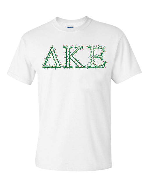 Delta Kappa Epsilon Holiday Lights Crew Tee