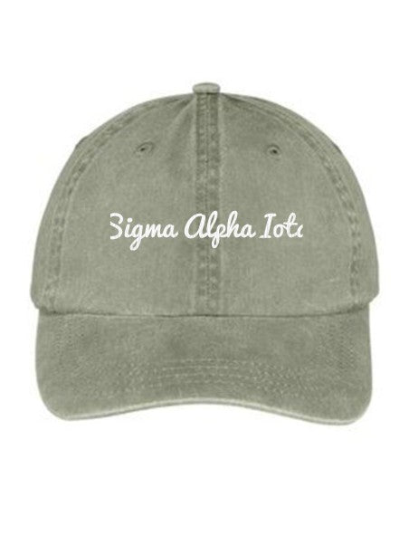Sigma Alpha Iota Nickname Embroidered Hat