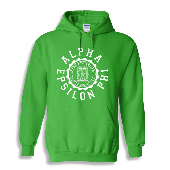 Alpha Epsilon Phi World Famous Seal Crest Hoodie