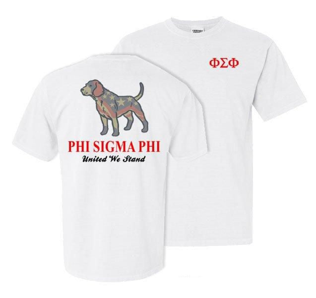 Phi Sigma Phi Stand Tall Comfort Colors Heavy Tee