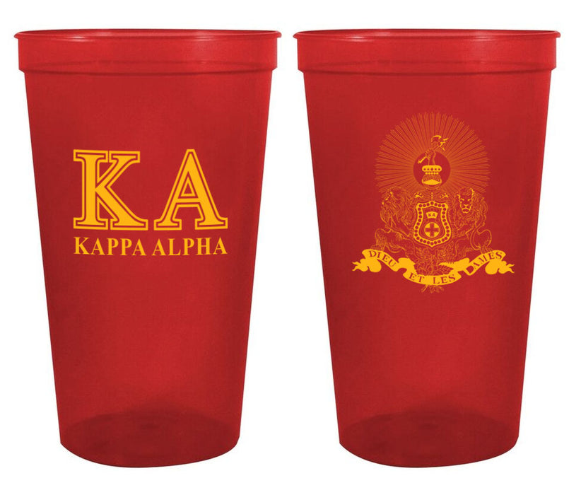 Kappa Alpha Fraternity New Crest Stadium Cup