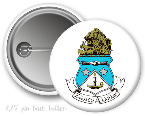 Alpha Delta Pi Color Crest Button