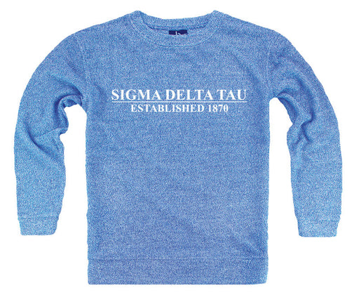 Sigma Delta Tau Year Established Cozy Sweater