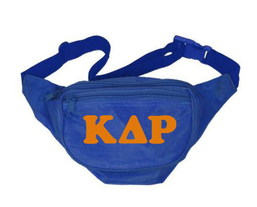 Kappa Delta Rho Letters Layered Fanny Pack