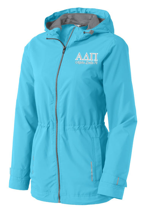 Alpha Delta Pi Embroidered Ladies Northwest Slicker