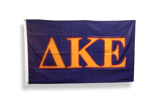 Delta Kappa Epsilon Big Letter Flag